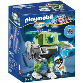 PLAYMOBIL® 6693 - Super 4 - Cleano-Roboter