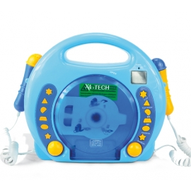 Karaoke CD Player MP3 2 Mikros boy-bla