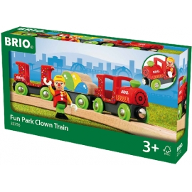 BRIO bunter Clown-Zug