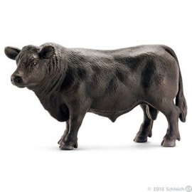 Schleich - World of Nature - Farm Life - Black Angus Bulle
